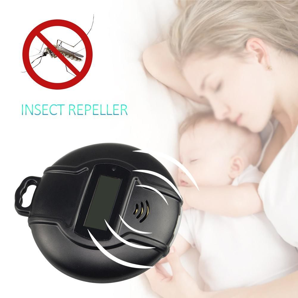 Solar Ultrasonic Mosquito Insect Killer Mice Pest Repeller for Outdoor Home