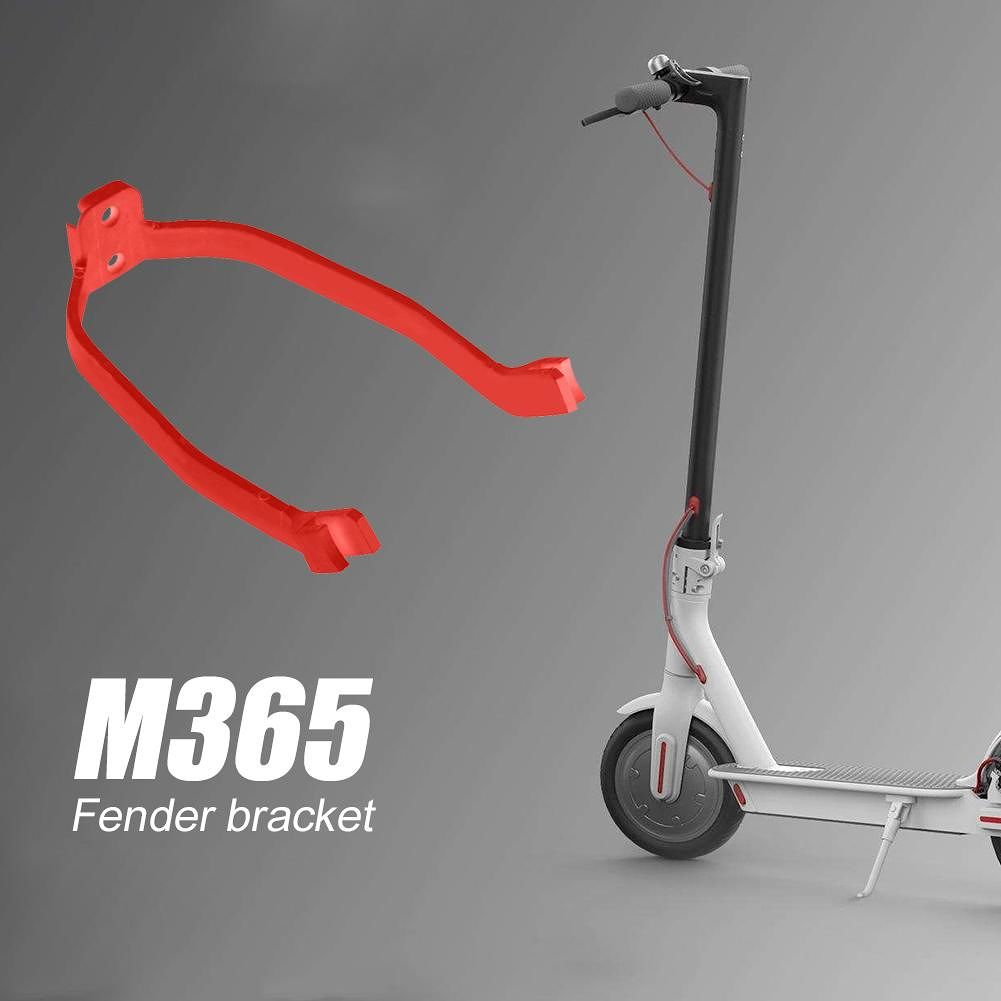 Front Mudguard Support for M365 Electric Scooter Rear Fender Rack (Red)