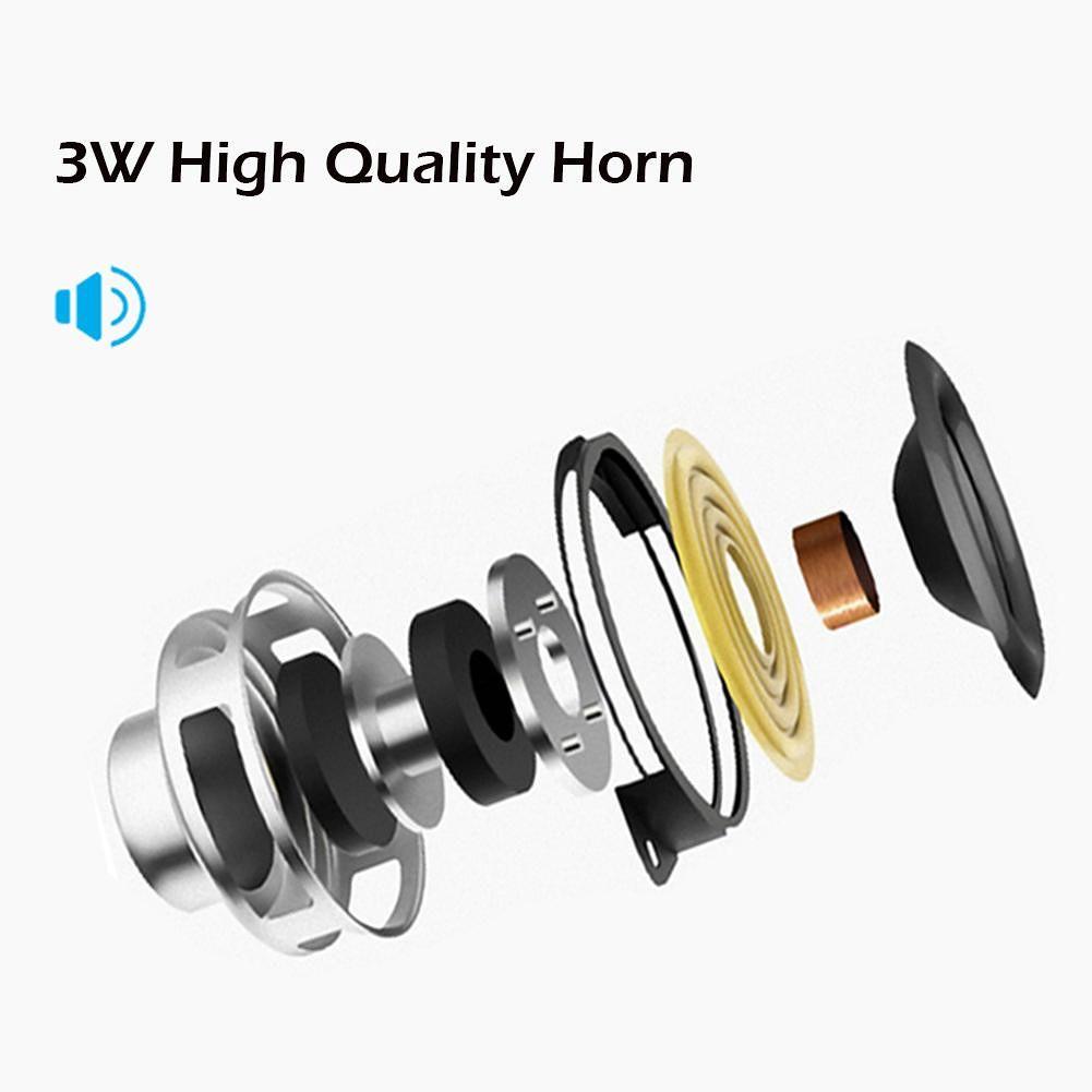 Handle Bluetooth Speaker Wireless Loudspeaker MP3 Audio Player (Black)