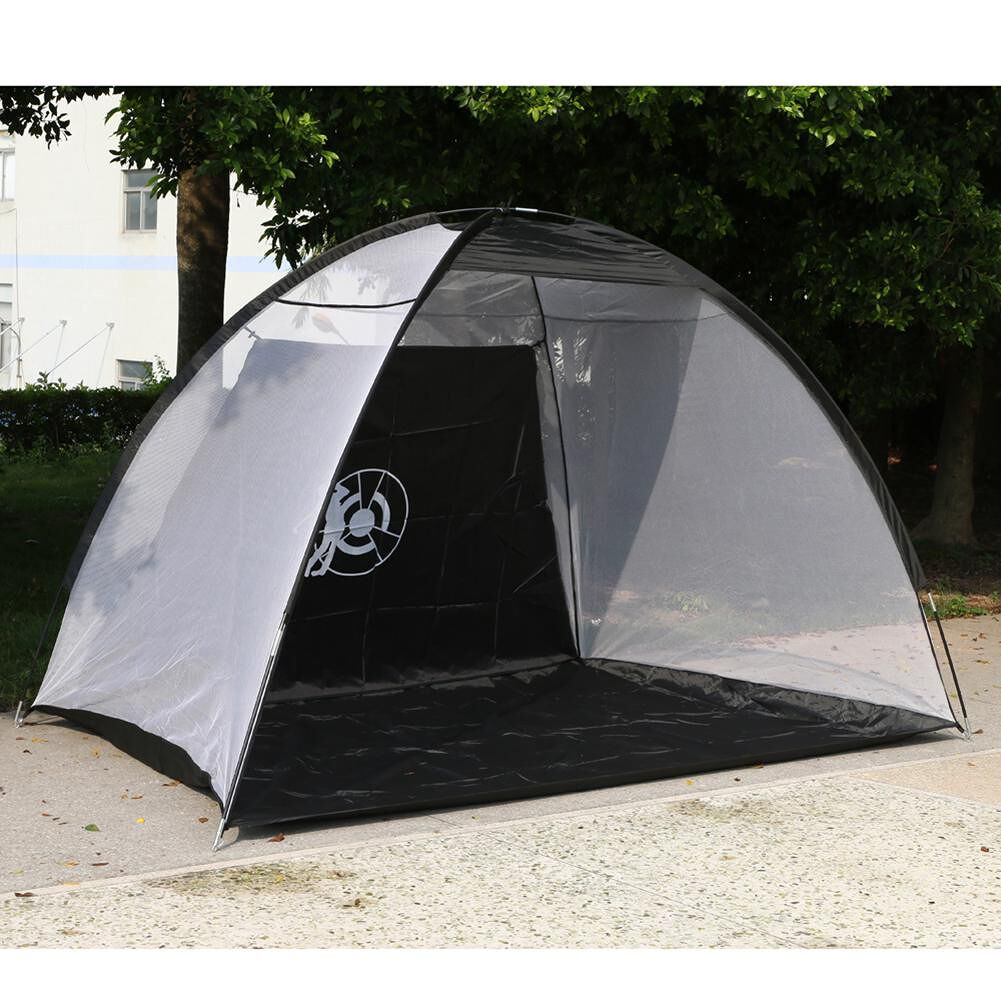 Outdoor Exercise Waterproof Hitting Cage Folding Golf Training Net Tent