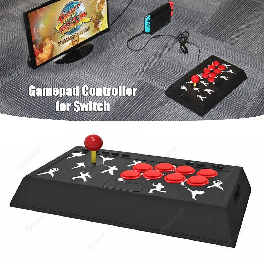 Fight Stick Joystick Game Handle Rocker Gamepad Controller Fit for Switch