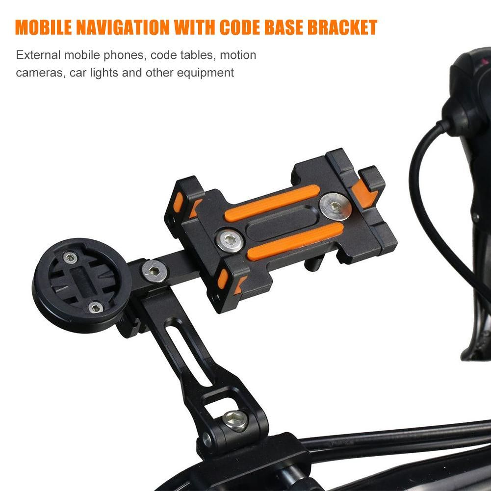 Universal Bicycle Mobile Phone Holder Extension Bracket for Navigation