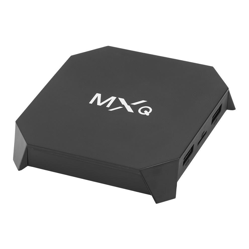 MXQ U2 W TV Box S905W Android 7.1 2.4G WiFi H.265 Set Top Box (US)(1+8G)