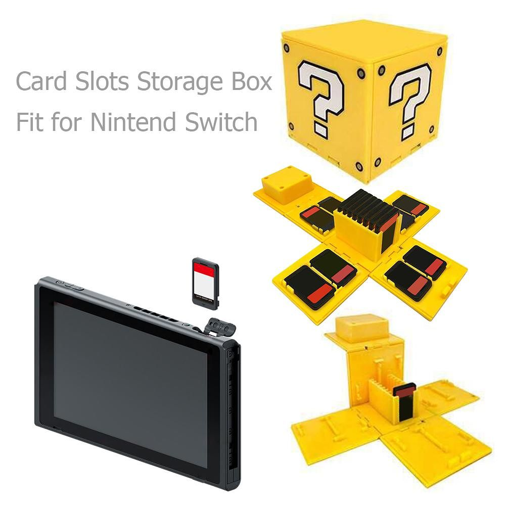 16 Game Card Slots Storage Box Carrying Case Fit for Nintend Switch (1pc)