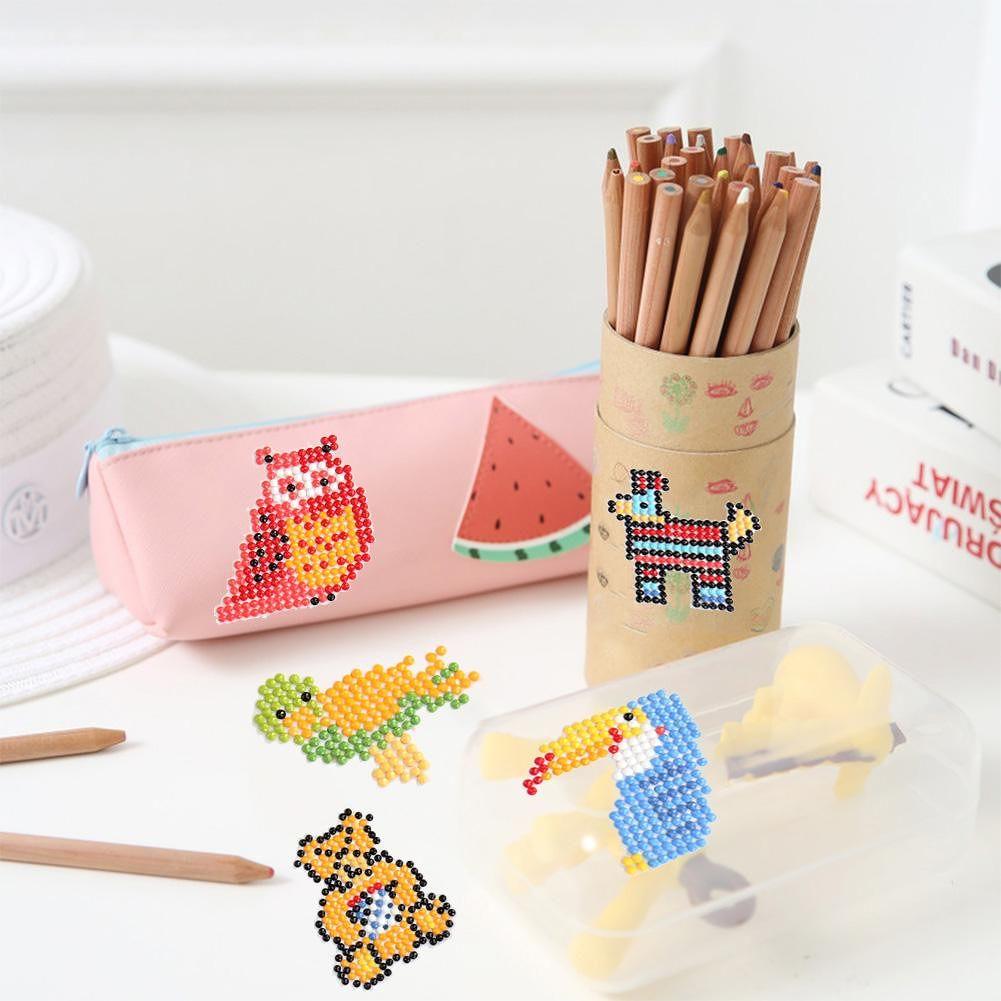 DIY Children Round Diamond Stickers Full Drill Diamond Painting Kits (T014)