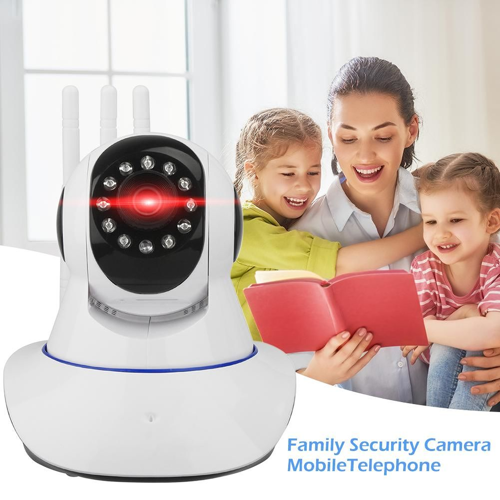 Q6 Wireless WiFi 2MP Surveillance Camera WiFi Night Vision CCTV Camera (US)