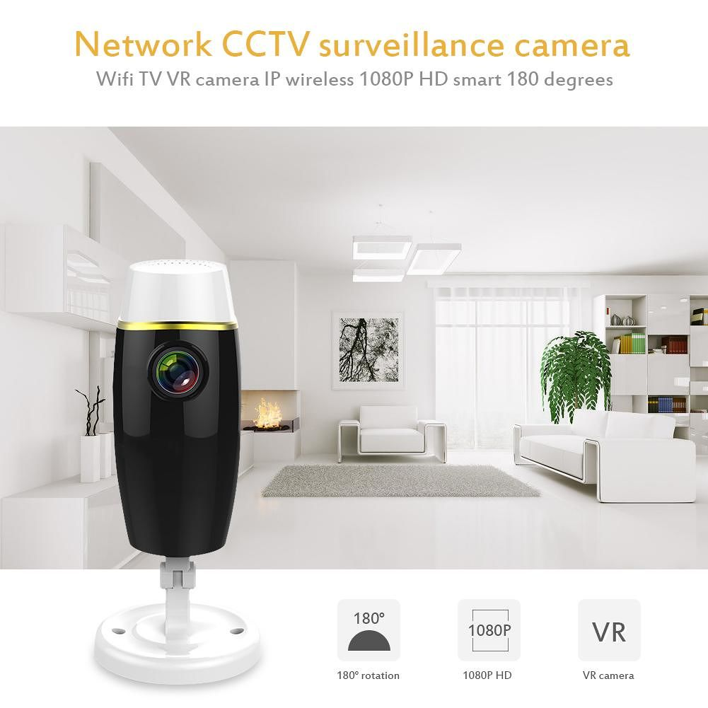 1080P Wifi IP Camera Two-Way Audio Intercom Night Vision Security Monitor