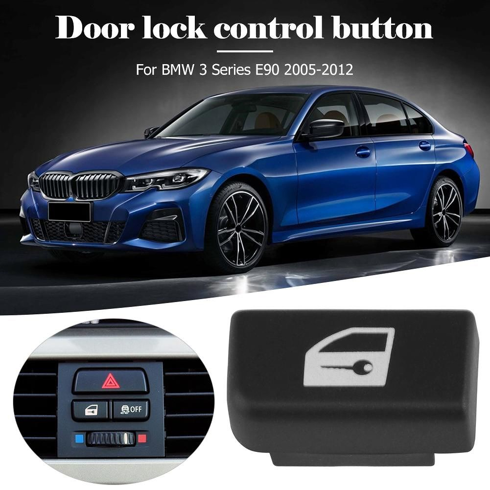 Central Locking Door Lock Control Replacement Button for 3 Series E90 05-12