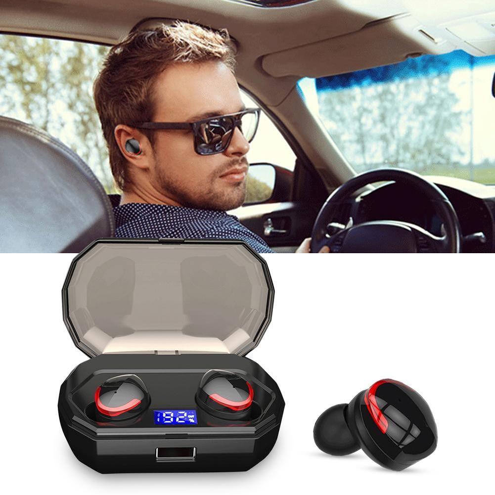 R10 TWS Bluetooth 5.0 Earphone IPX7 Waterproof Wireless Headset Earbuds