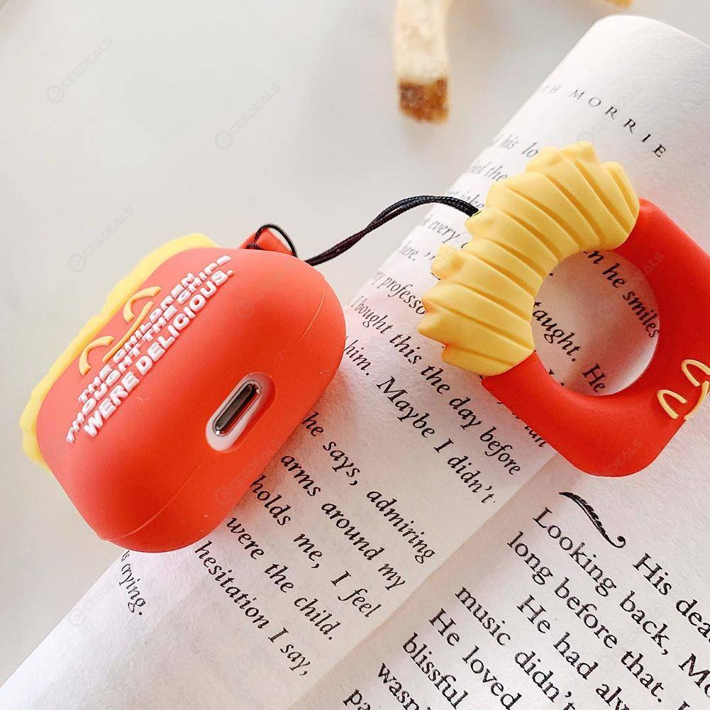 Cartoon Silicone Headset Case Cover For Apple Airpods 1 2 Charging