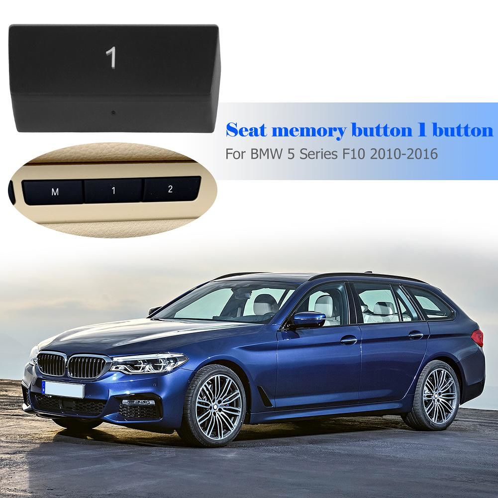 Car Power Seat Switch 1 Button Cover Cap for 5 Series F10 GT 7 Series F02