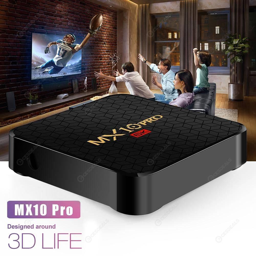 MX10 Pro TV Box 4GB+32GB Android 9 0 H6 Quad Core 6K Set Top Box (EU)