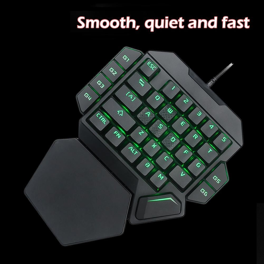 K50 Wired USB One-Handed Keyboard Macro Definition Mechanical Gaming