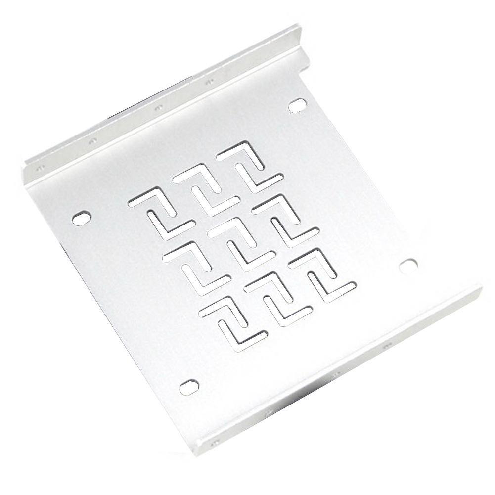 SEATAY SU302 2.5 inch to 3.5 inch SSD HDD Rack Hard Drive Holder (Silver)