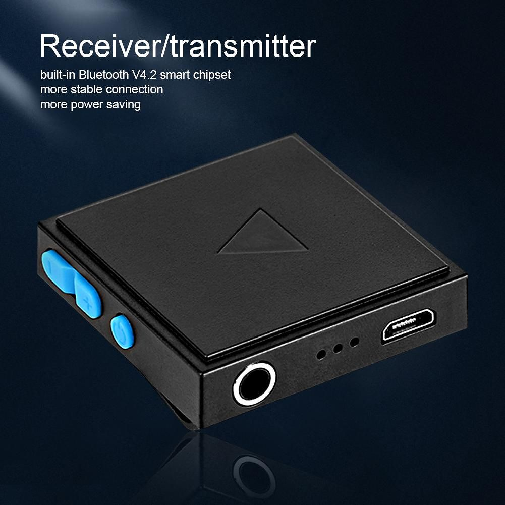 2 in 1 AUX Bluetooth Transmitter Receiver Audio Adapter for Android 4/iOS 6