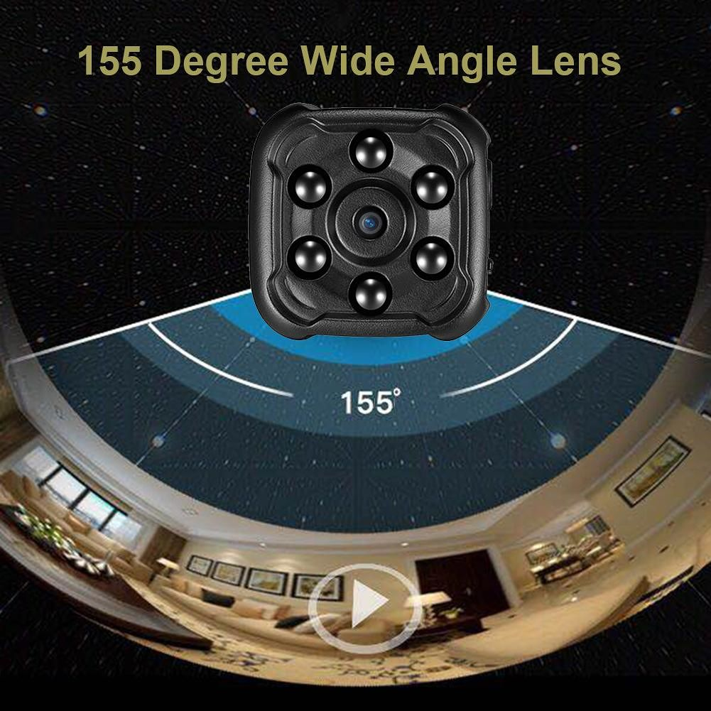 Quelima SQ16 FHD 1080p Mini Camera Car DVR Sport DV Night Vision Camcorder