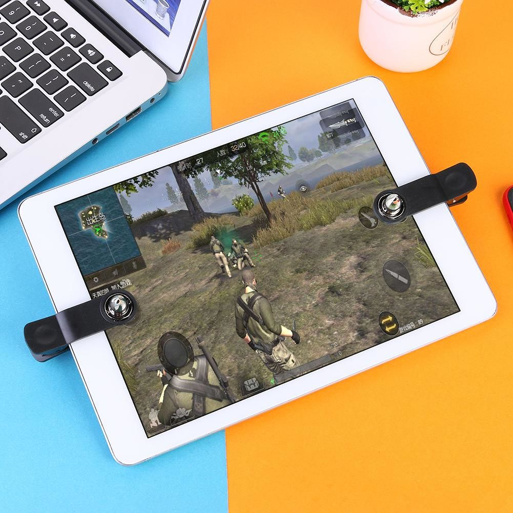 2pcs for iPad Android Tablet Mobile Gaming Trigger Game Fire Button Aim Key