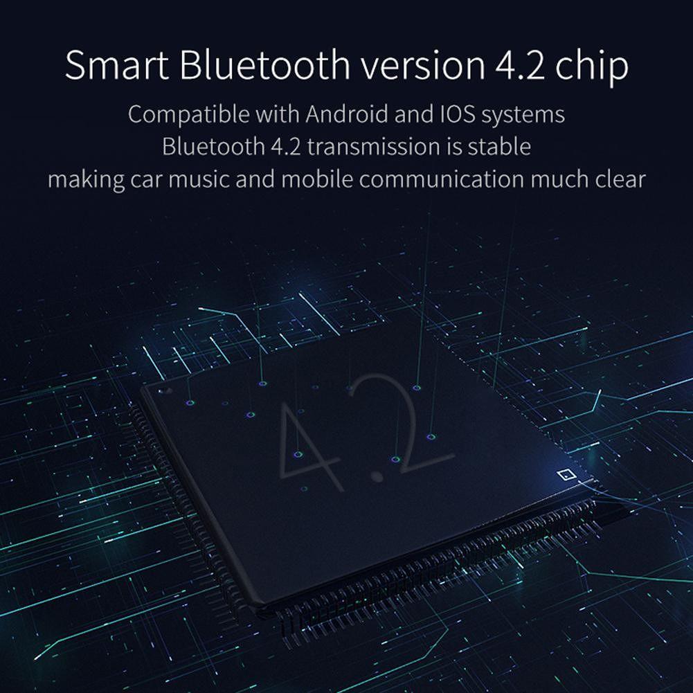 B8 Bluetooth FM Transmitter Car Kit MP3 Player 3.1A USB Charger (Black)