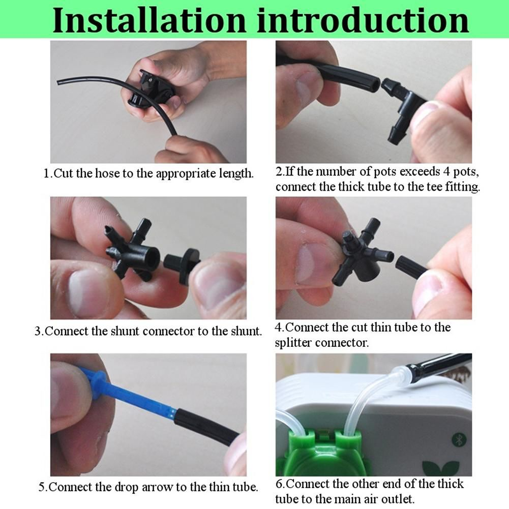 Garden Intelligent Automatic Watering Controller Plant Irrigation Tool (US)