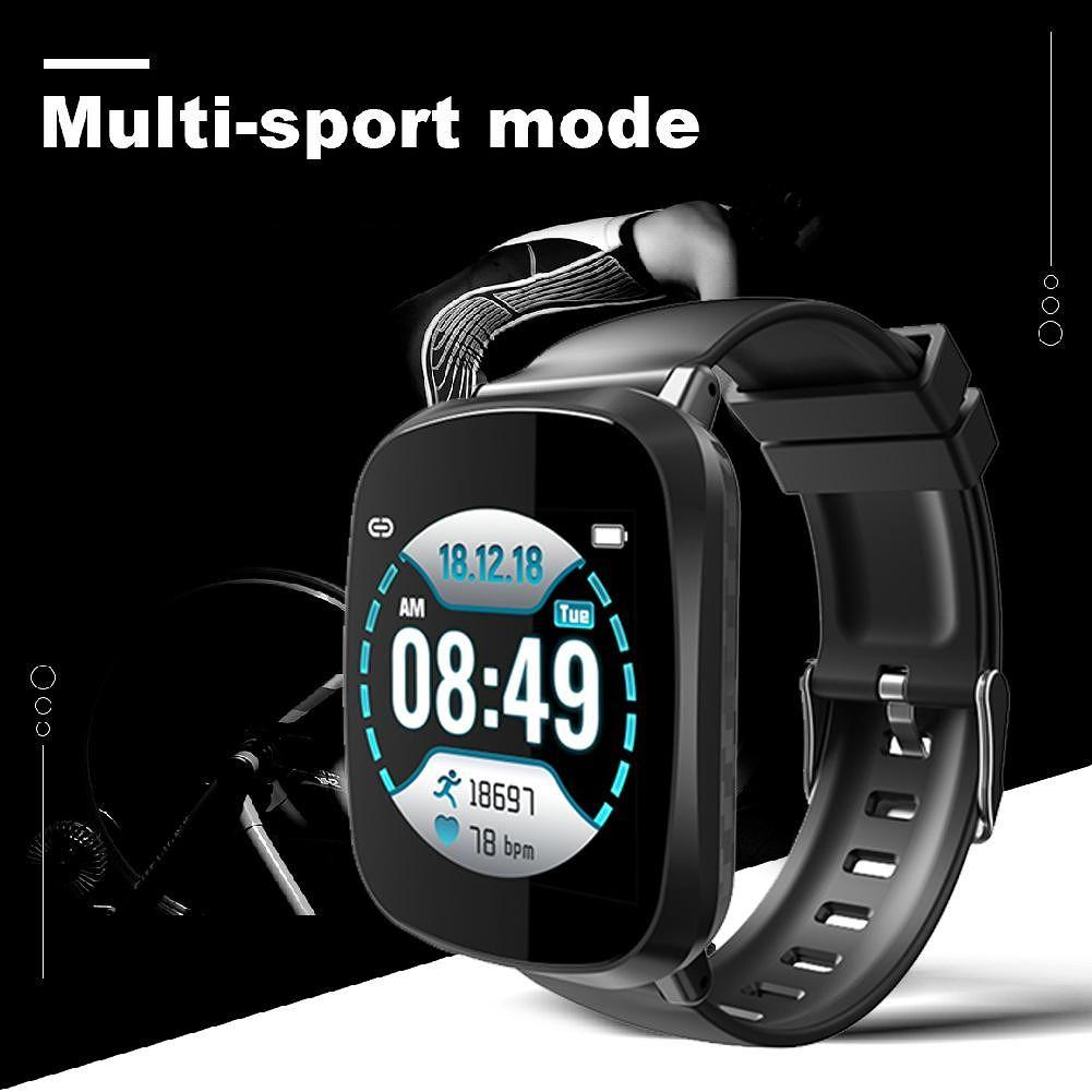 A8 Real Time Heart Rate Blood Pressure Sleep IP67 Waterproof Smart Watch