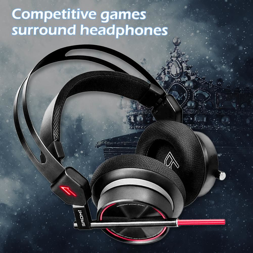1MORE H1005 USB Wired Gaming Sport Headset Noise-Cancelling Music Headphone