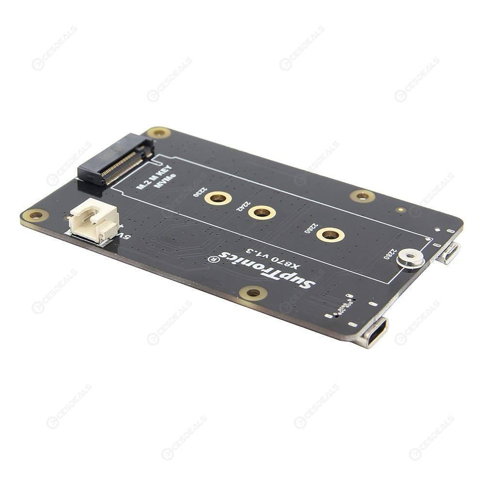 Raspberry Pi X870 NVME SSD Shield M 2 NAS/ROCK64 Storage Expansion Board