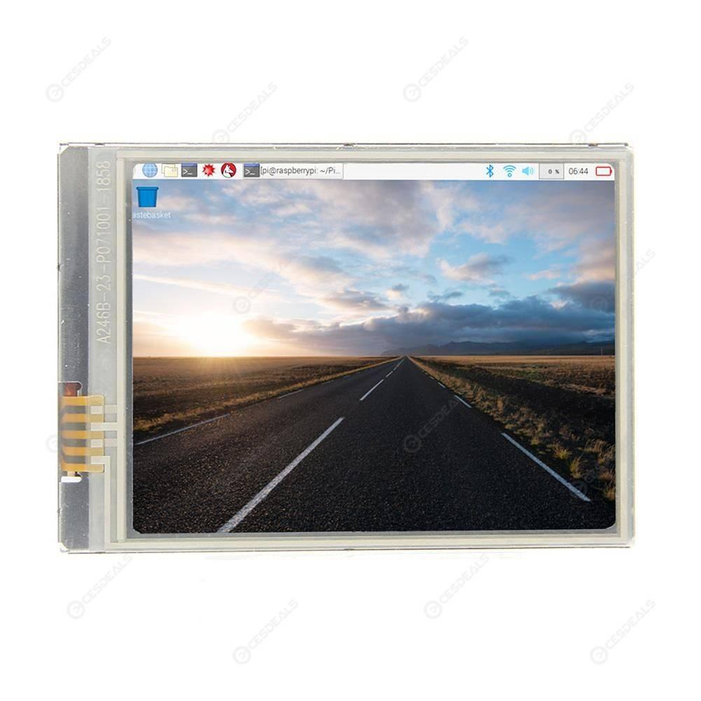 Raspberry Pi Zero 2 8 Inch Fastest 60+ fps HD Touch Screen 640x480 Display