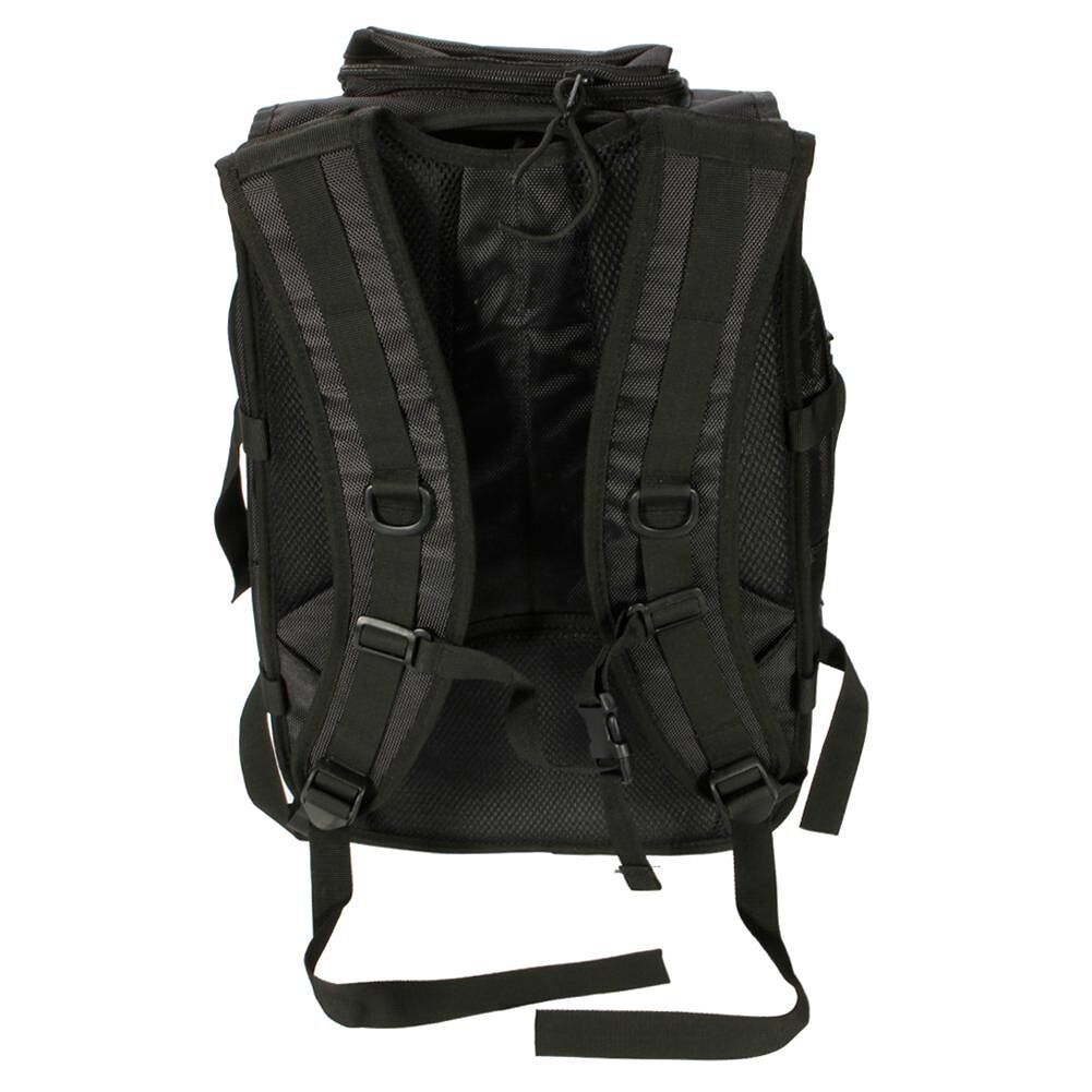 LP BL013 X7 35L Outdoor Multi-functional Oxford Cloth Backpack (Black)