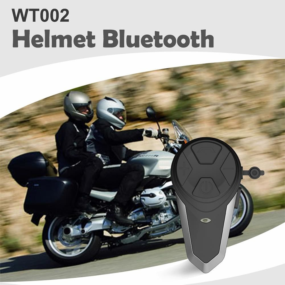 S3 1000m Bluetooth Motorcycle Helmet Headset Wireless Intercom Interphone
