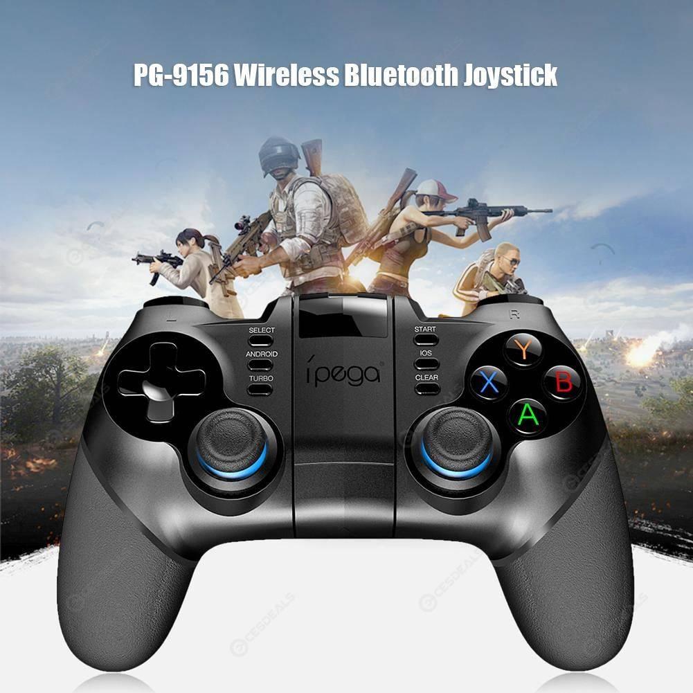 PG-9156 Wireless Bluetooth Joystick Sensitive Continues Beating Controller