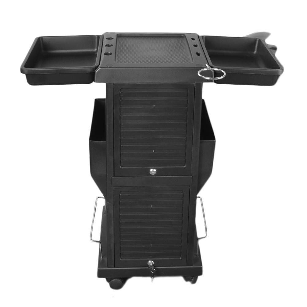 HZ2001 Saloniture Premium Locking Rolling Trolley Cart Removable Barber Car