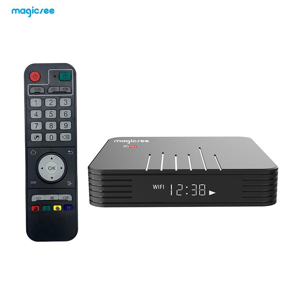 N5 Max TV Box Android 8.1 Amlogic S905X2 2+16G WiFi BT4.1 Set Top Box US