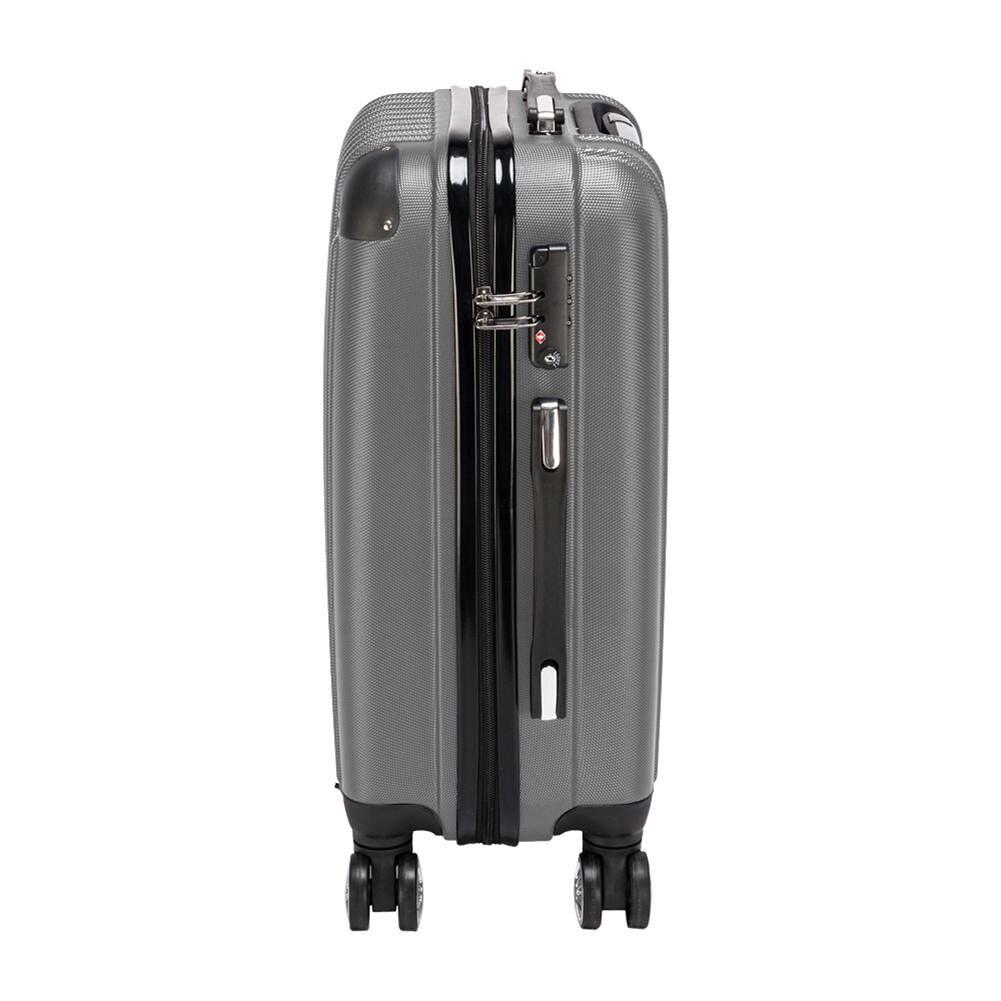 20 inch Waterproof Spinner Suitcase Travel Rolling Wheels Trolley (Gray)