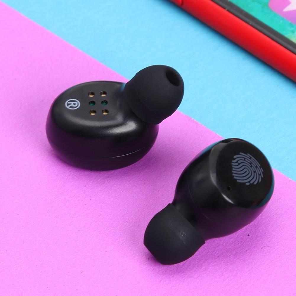 CVC 8.0 Bluetooth 5.0 TWS Wireless Earbuds Touch Control Stereo Earphones