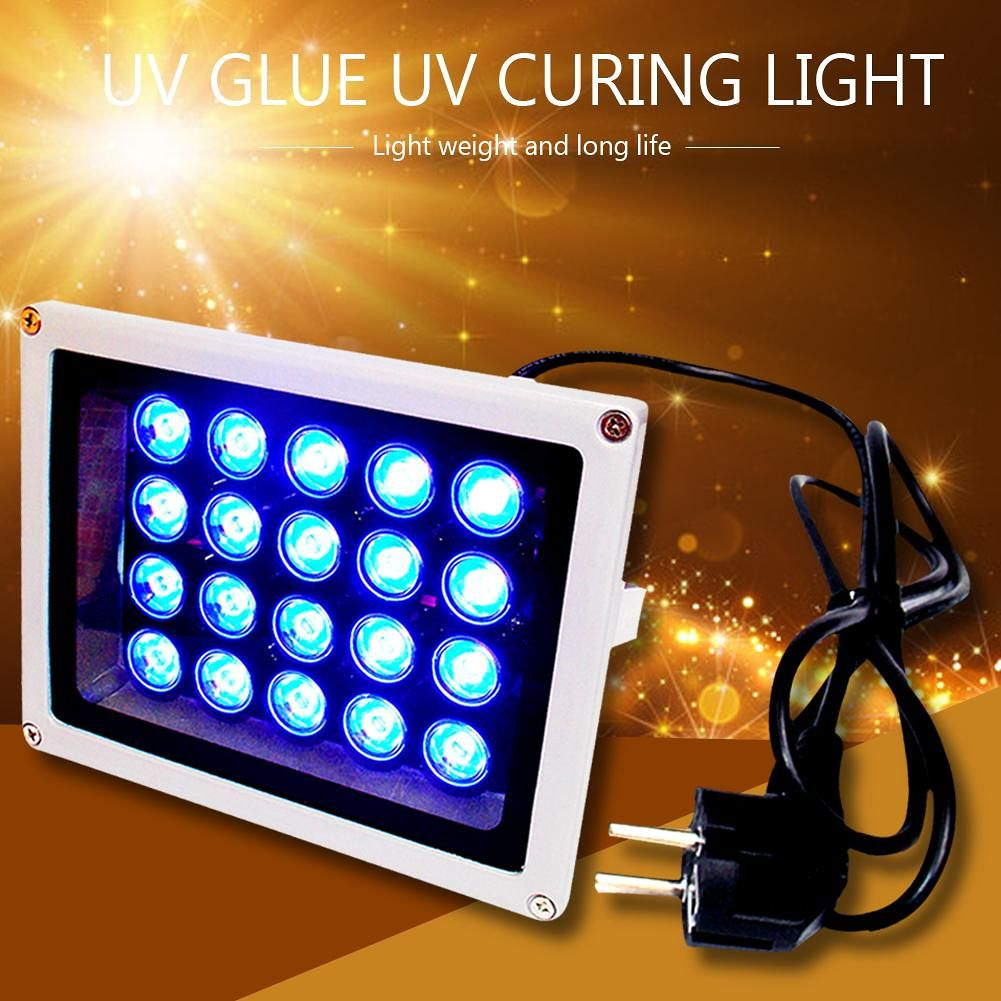 25W Ultraviolet Fast Curing Light Mobile Phone Repair UV Glue Cure LED Lamp