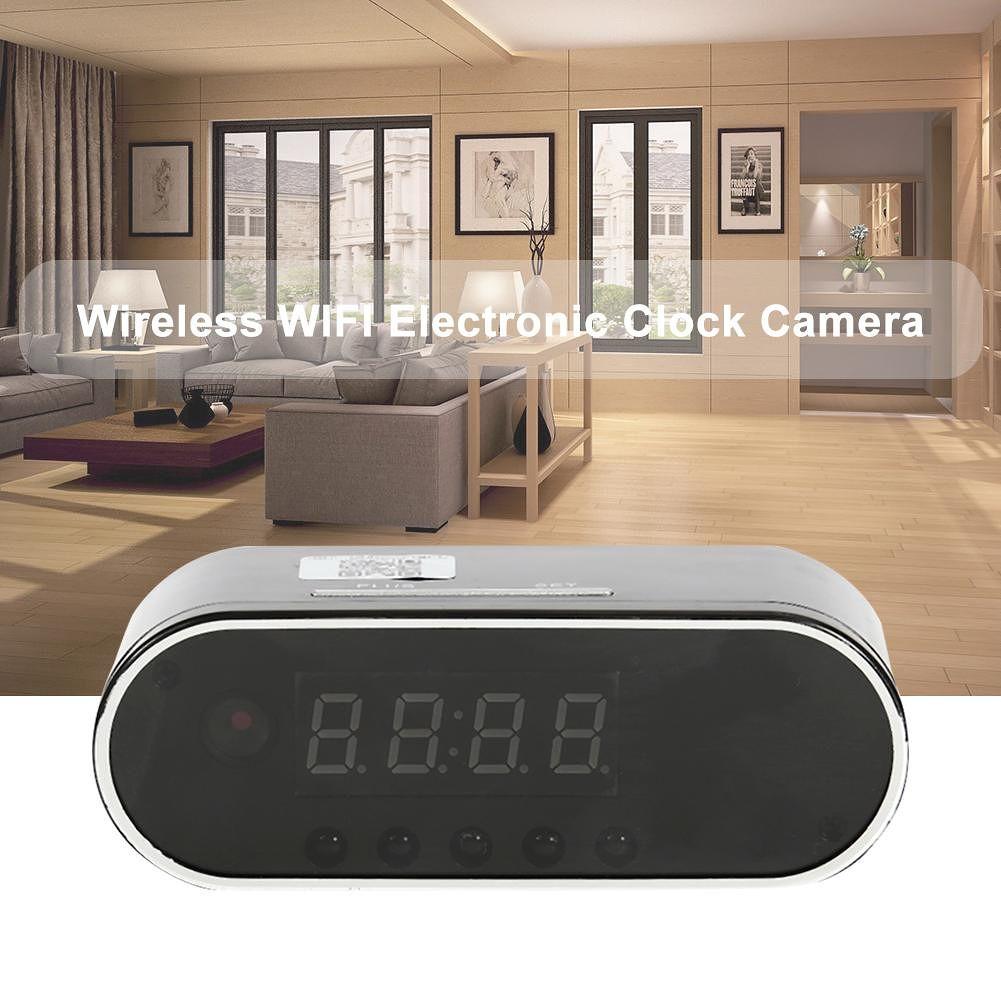 Z10 1080P Night Vision Wireless WIFI Electronic Clock Camera P2P CCTV Cam