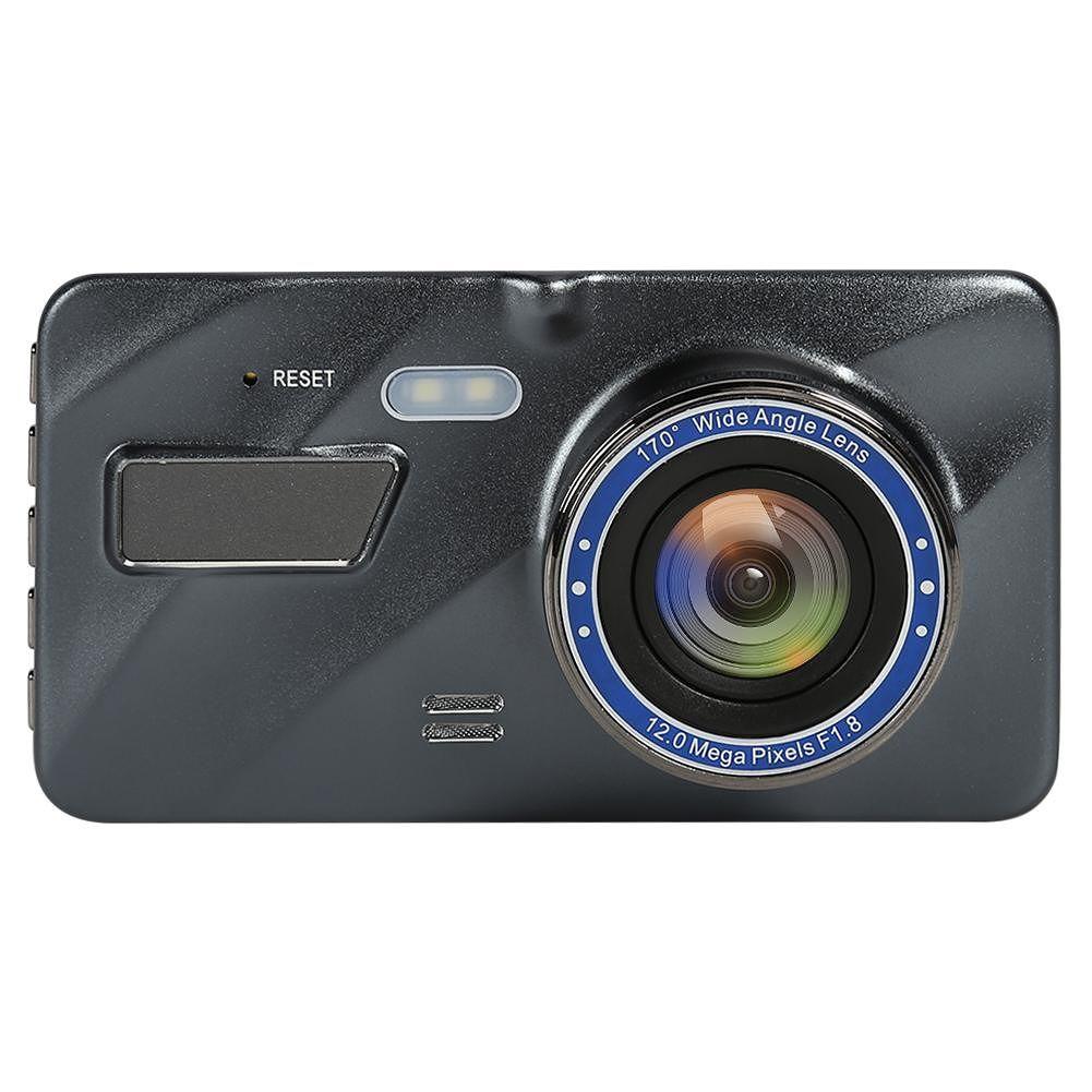 SE016 1080p Car DVR Dual Lens 4 inch Screen Night Vision Dashboard Camera