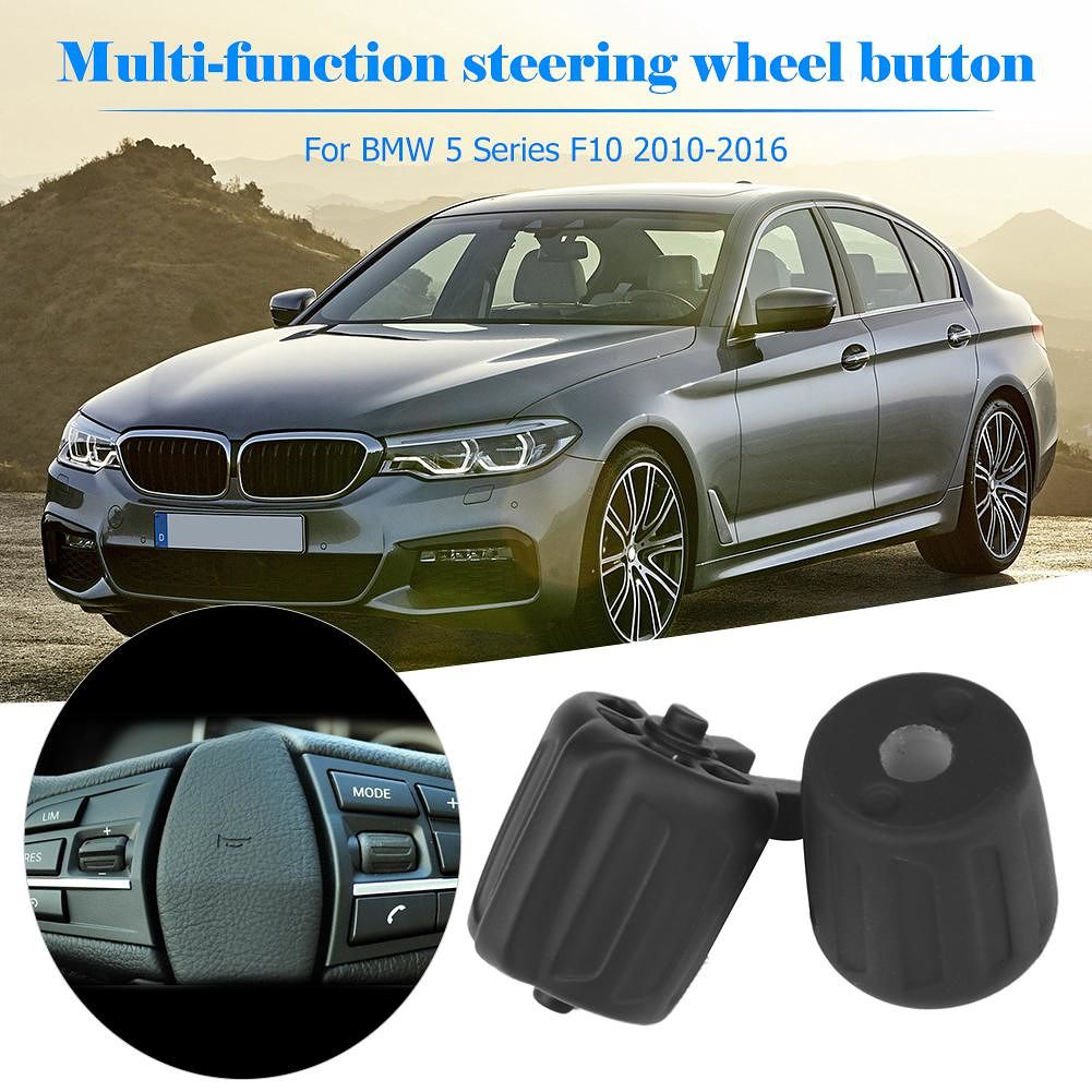 1 Set Steering Wheel Multifunction Switch Rubber Buttons for GT F10 F02