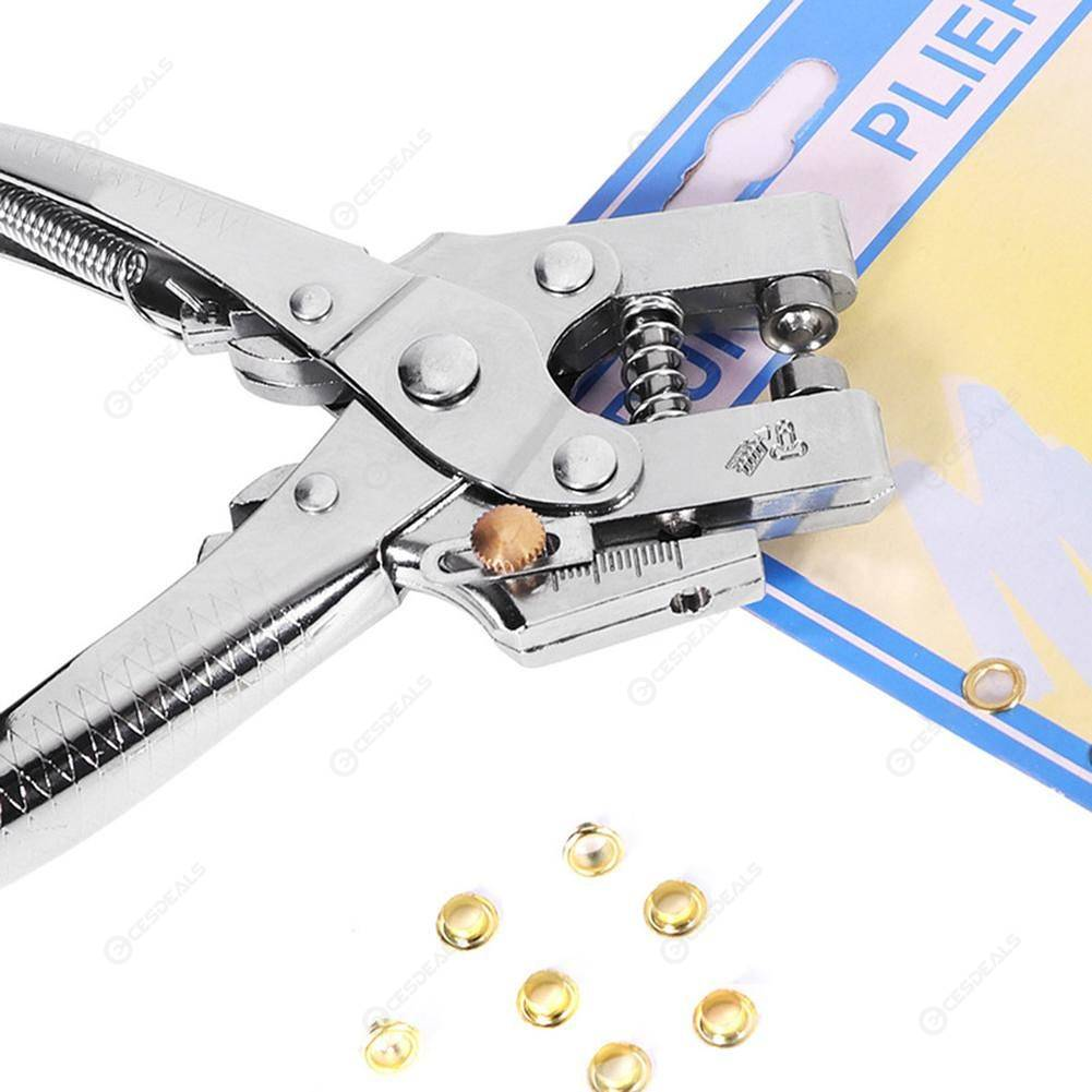 Multi-use Fastener Snap Pliers Hole Puncher Leather Scrapbooking Pliers