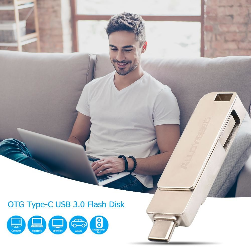 USB 3.0 Type-C OTG Flash Drive Transmission USB Pen for Type-C Device (8GB)