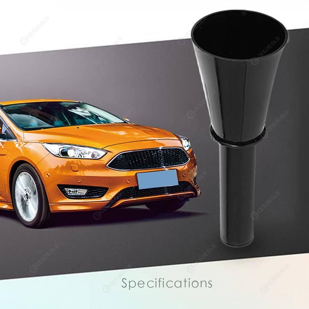Car Emergency Fuel Gas Petrol Filler Funnel Black For Ford Focus MK2  //