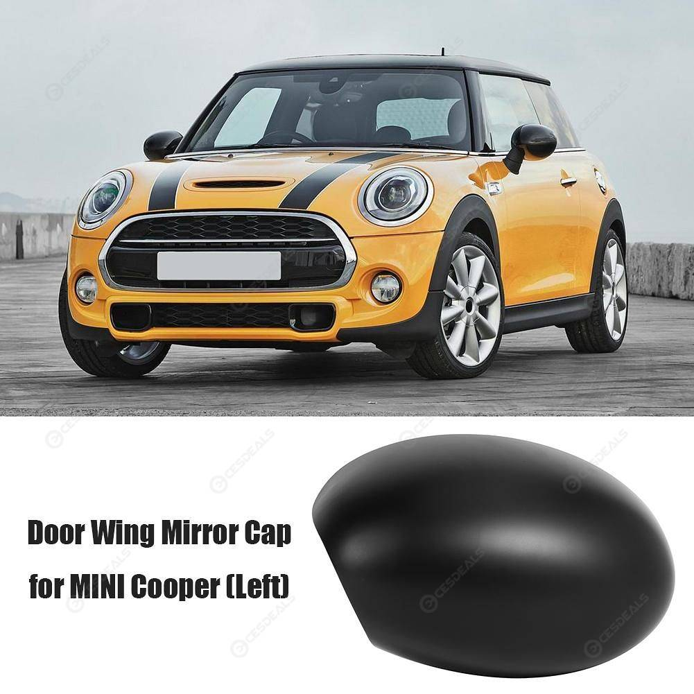 Left Side Door Wing Mirror Cover Case Cap For BMW Mini R50 R52 R53 2001-2008 !
