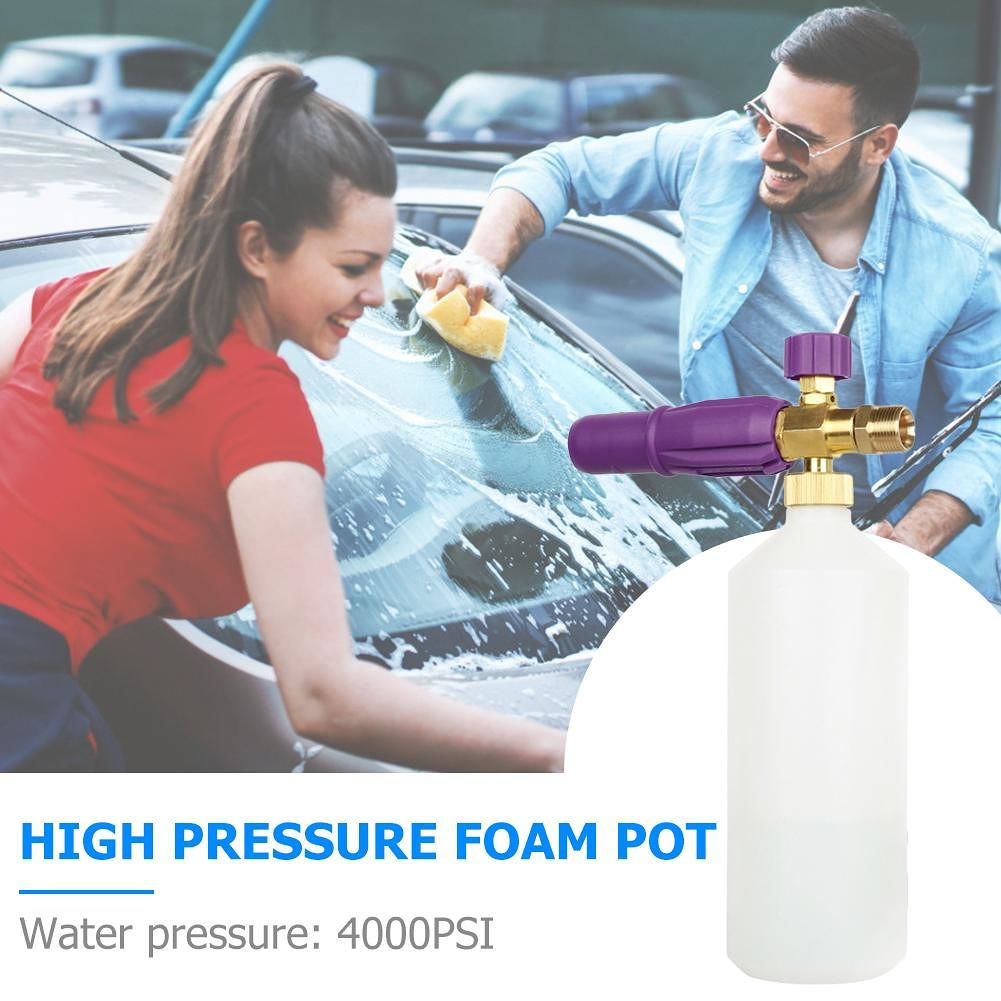 Car Wash Snow Foam Lance Foam Cannon for Karcher Pressure Washer Jet Wash
