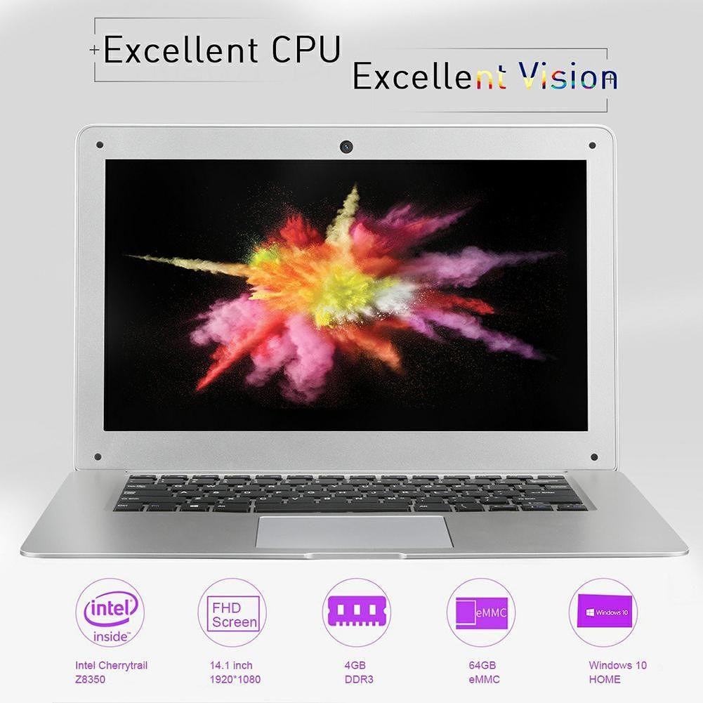 JUMPER EZbook 2 14.1 inch Win10 Quad-Core 4GB 64GB Laptop Business Notebook