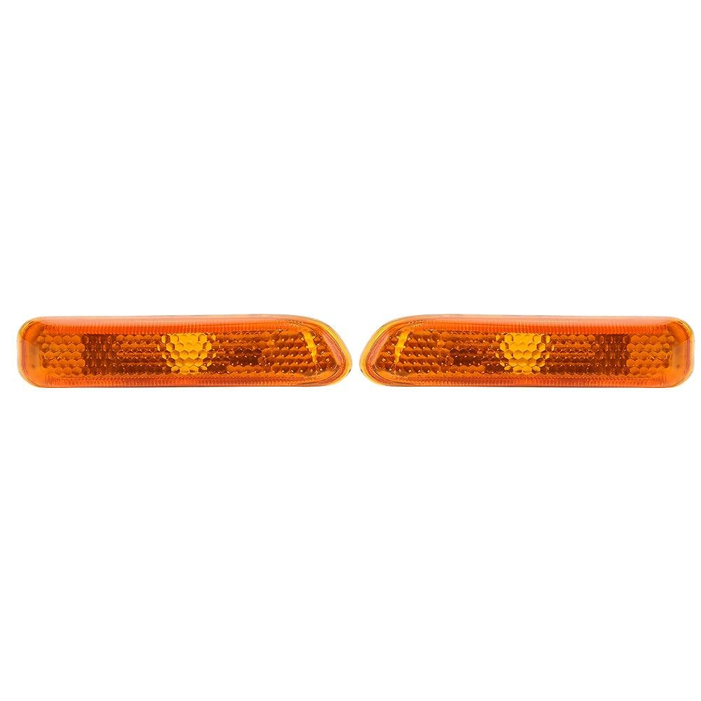 1 Pair Side Marker Lights Fender Turn Signal Lamps for 3 Series E46 99-01