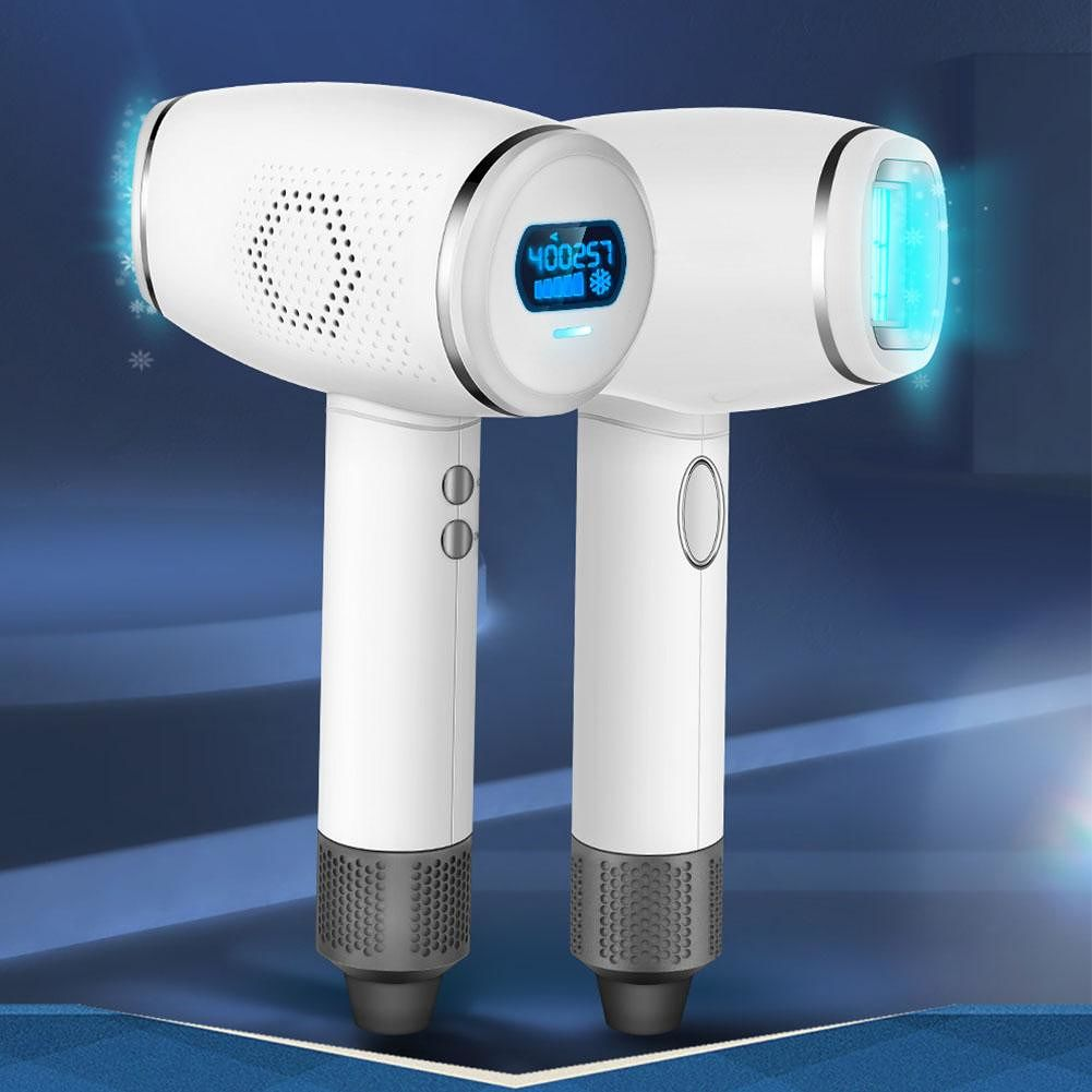 LCD Display IPL Laser Hair Removal Machine Armpit/Hand Hair Epilator (EU)