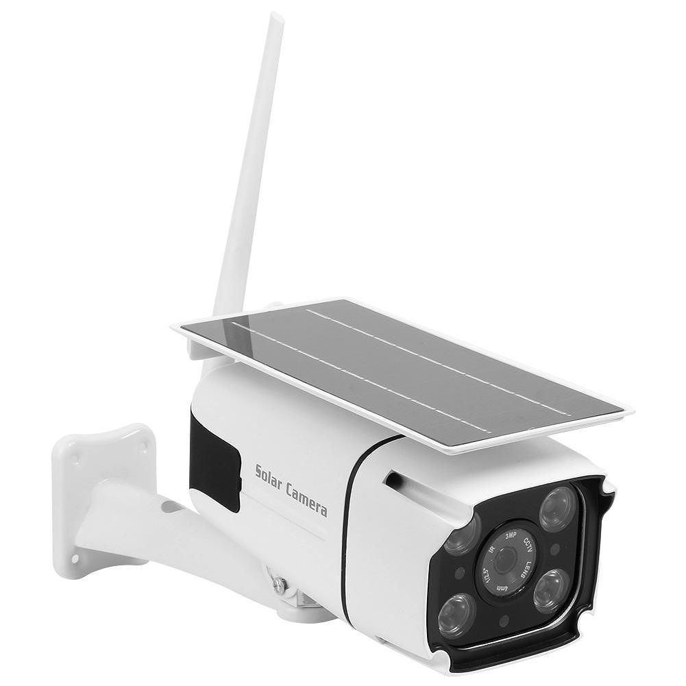 Wireless Security Camera WiFi 1080P Dual Light Source IP Solar CCTV Camera