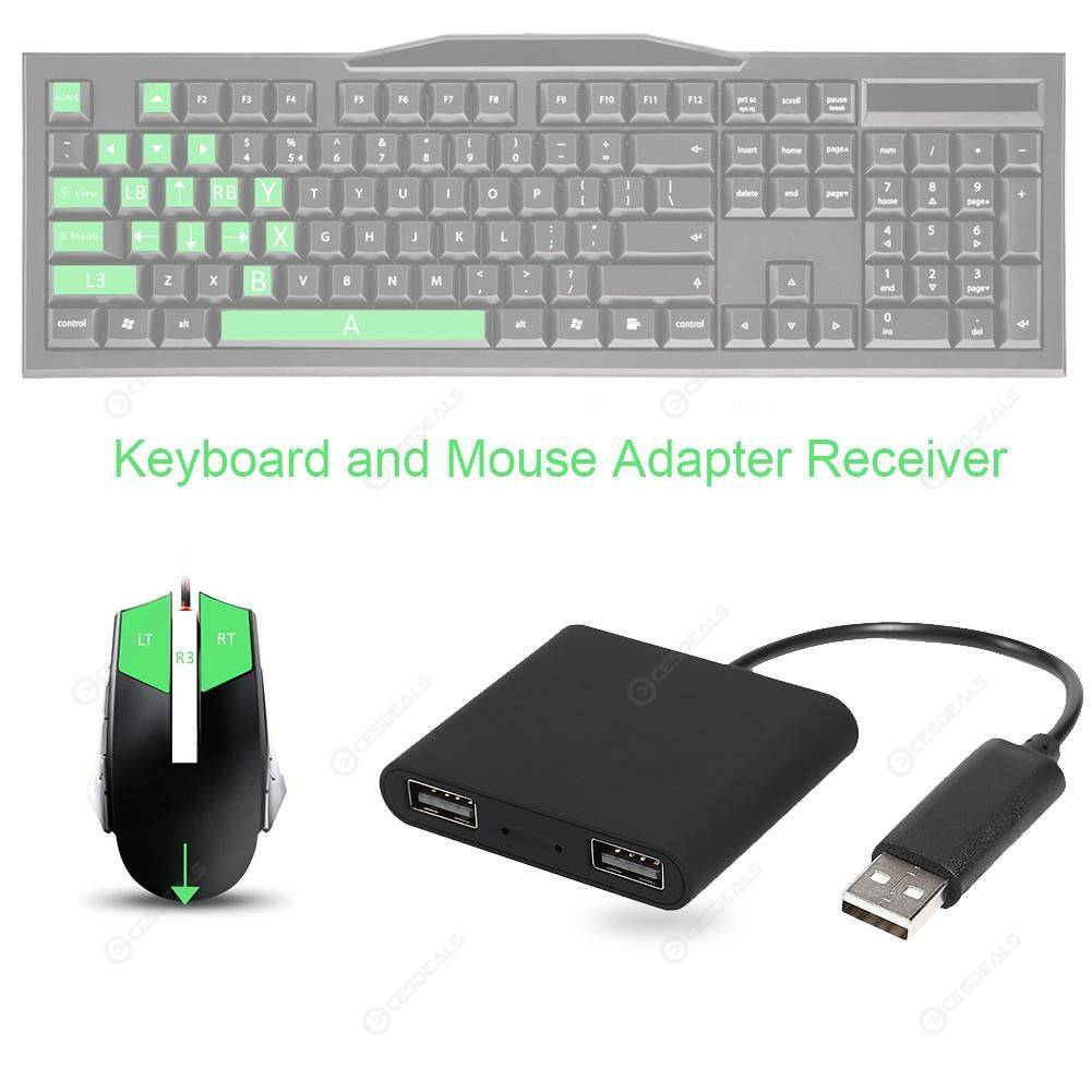 JYS-NS171 Keyboard Mouse Adapter Receiver Fit for Nintend Switch XBOX One