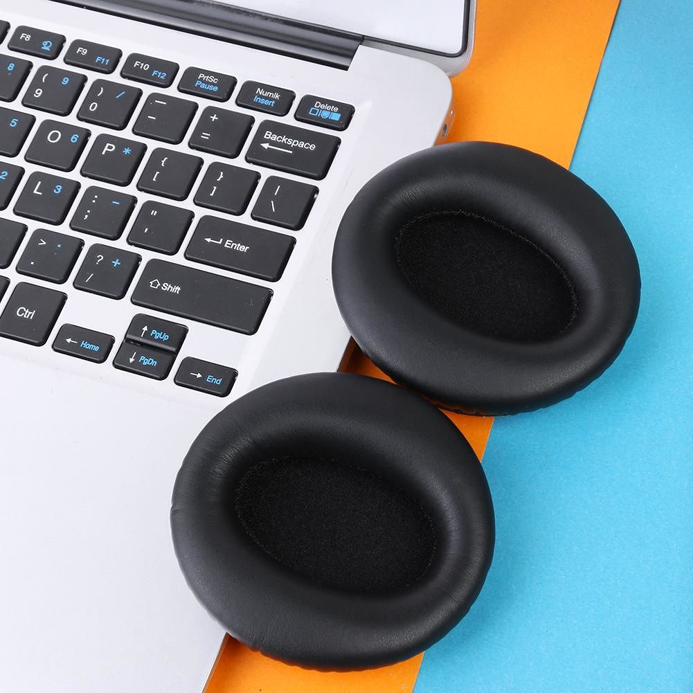 1 Pair Replacement Earpads Cushion Cover for COWIN E7 / E7 Pro Headphones