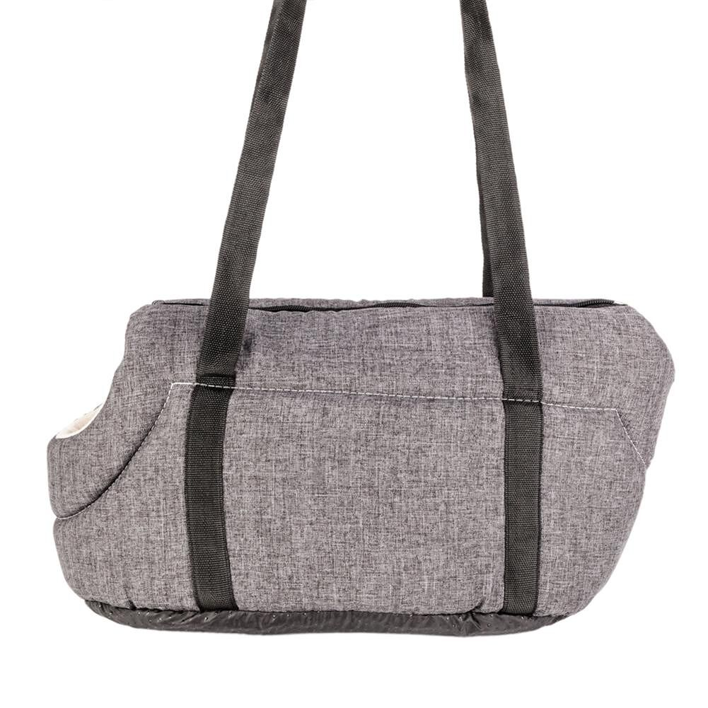 Light Pet Carrier Cat / Dog Comfort Travel Bag Gray